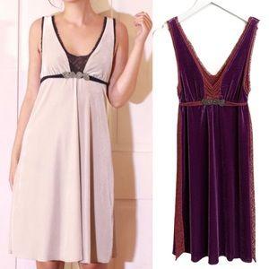 BOGO! Free People Velvet Lace Romantic Boho Dress